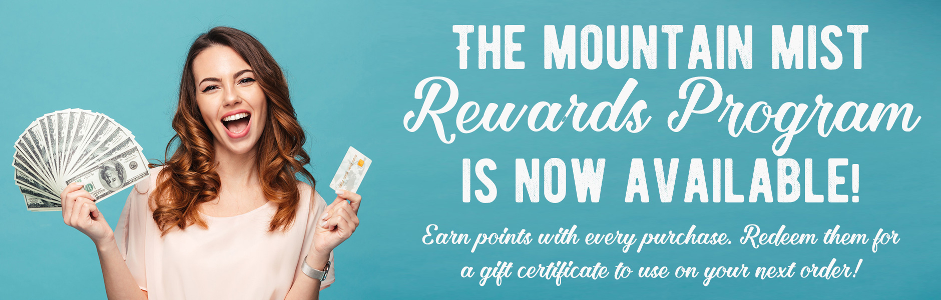 Check out our new Rewards Program
